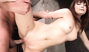 Japanese hottie with perfect body fucked hard