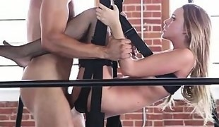 Alexis on a Sex Swinger