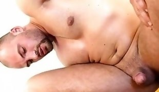 Guy gets an obscene anal drilling from hunk