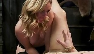 papa georgio gets punished and fucked by mona wales