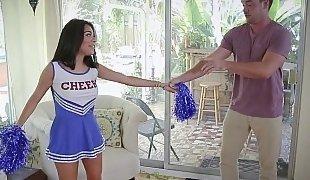 Little lusty cheerleader