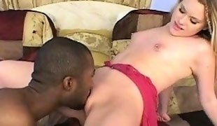 Alissa Gets A Black Cock Fucking