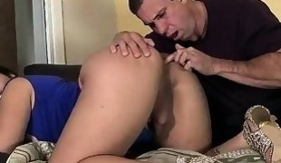 Bubble butt tranny anal fucked by a guy
